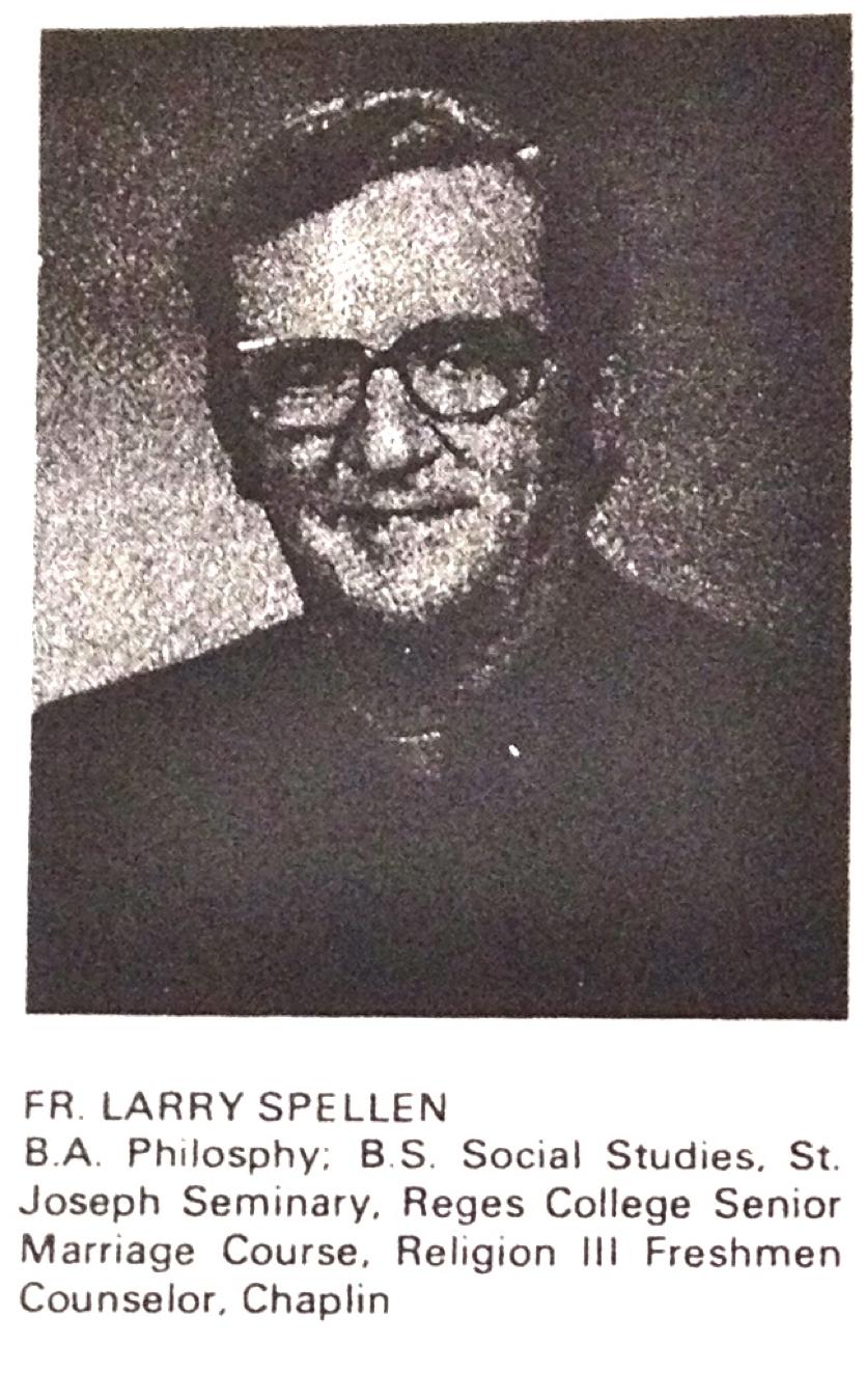 Fr. Larry Spellen