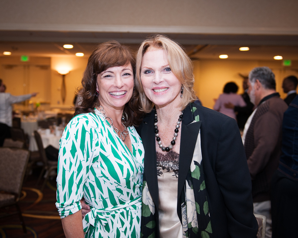 With fellow honoree Mariette Hartley