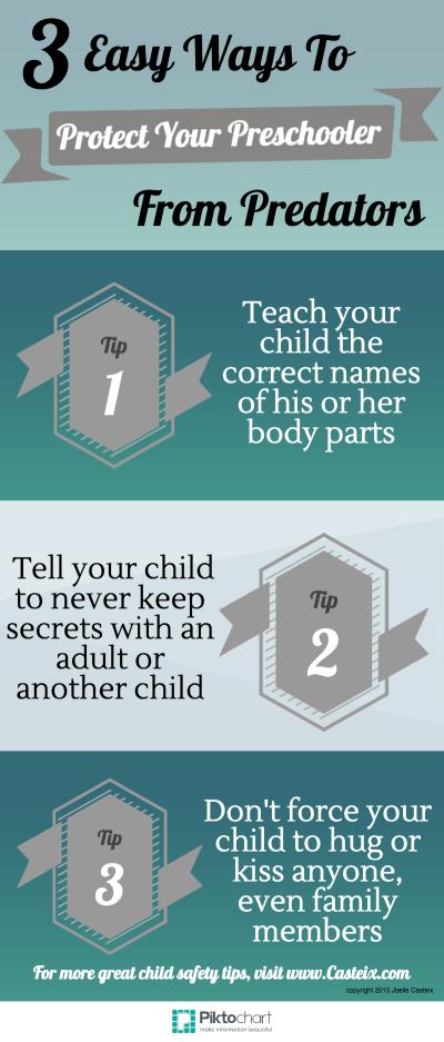 Preschooler safety tips