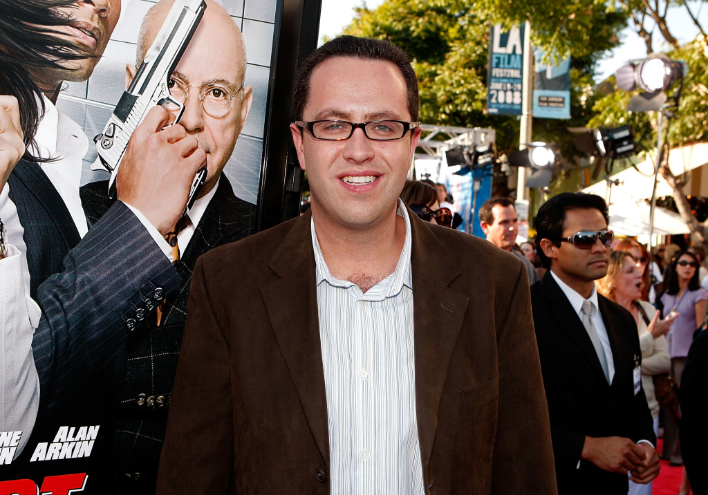 former pitch man Jared Fogle