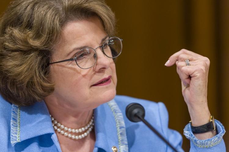 CA Senator Dianne Feinstein
