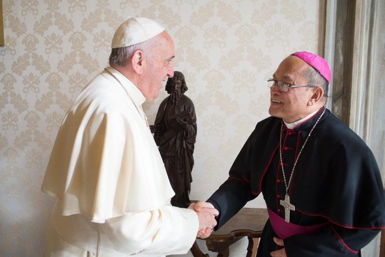 Accused Archbishop and his favorite pope